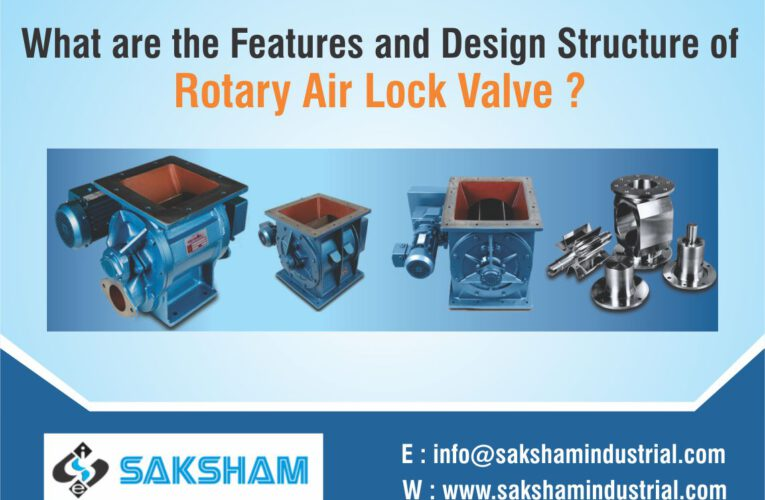 What are the features and design structure of Rotary Airlock Valve