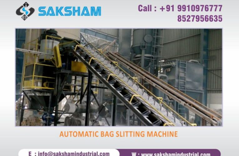 What is Automatic Bag Slitting Machine and it's features?