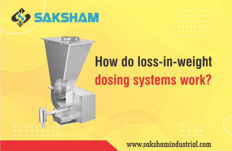 How do loss-in-weight dosing systems work?