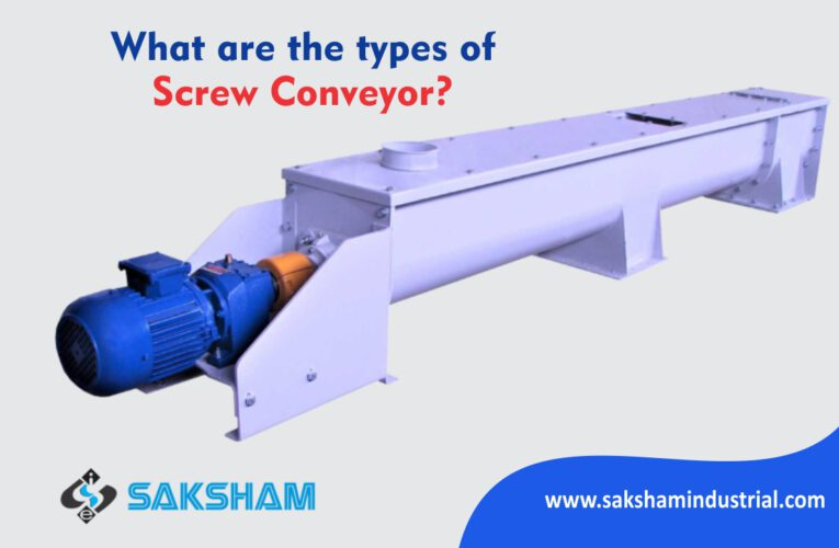 What are the types of Screw Conveyor?